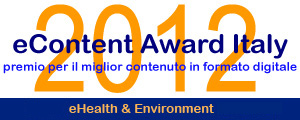 logo Econtent Aword Italy 2012 - sezione eHealth & Environment - Ambulatoriprivati.it