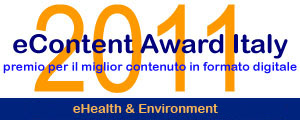 logo Econtent Aword Italy 2011 - sezione eHealth & Environment - Ambulatoriprivati.it