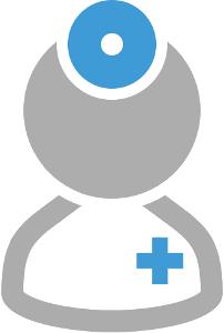 avatar medico professionista uomo grigio blu di Ceo Srl Ceo Srl